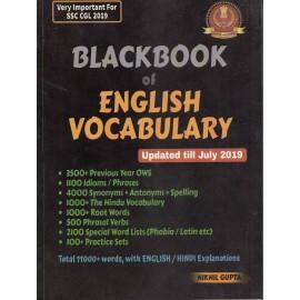 Blackbook of ENGLISH VOCABULARY (number edition) BY NIKHIL GUPTA