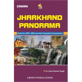 Crown Publication [Jharkhand panorma 7th Edition (English), Paperback] by Dr. Sunil Kr. Singh