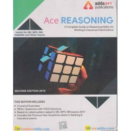 ADDA 247 PUBLICATIONS PVT LMT ( ACE REASONING A COMPLETE GUIDE ON REASONING  & INSURANCE EXAMINATION USEFUL FOR SBI . IBPS , RBI , NABARD AND OTHER EXAMS EDITION ENGLISH 1700+ QUESTION WITH 100% SOLUTIONS )