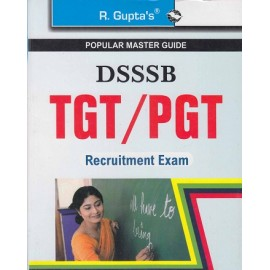 R GUPTA PUBLISHING HOUSE - POPULAR MASTER GUIDE ( [ DSSSB TGT / PGT  GUIDE  2015 TO 2018 PREVIOUS PAPER ( SOLVED ) Edition 2020 )] english