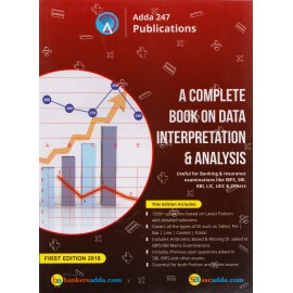 Adda 24 x 7 Publications [A Complete Book on Data Interpretation & Analysis (English, Paperback) by Bankers Adda