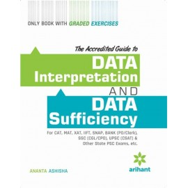 Arihant Publication PVT LTD [Data Interpretation and Data Sufficient (English) Paperback] by Ananta Ashisha
