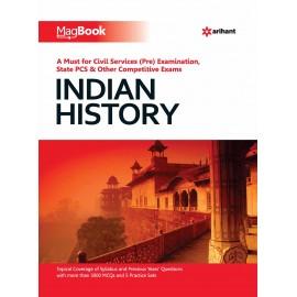 Arihant Publication PVT LTD [Magbook Indian History (English) Paperback] by Janmenjay Sahini