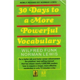 Binny Publishing House [30 Days to a More Powerful Vocabulary, Paperback] by Wilfred Funk Norman Lewis