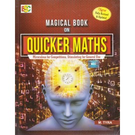 BSC Magical Book on QUICKER MATHS (New Revised Edition, 2018) (English, Paperback) by M. Tyra