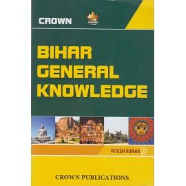 Crown Publication [BIHAR GENERAL KNOWLEDGE (ENGLISH) Paperback] by Ritesh Kumar