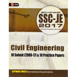 GK Publication [SSC JE 2017 Civil Engineering 10 Solved (2008-17) & 10 Practice Papers CPWD/MES Recruitment Examination (English) Paperback]