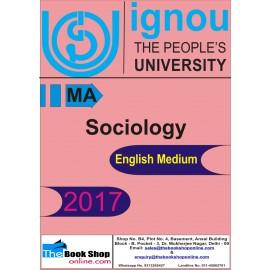 IGNOU - Sociology, MA (English) Printed