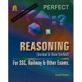 Jnanada Publishers [Perfect Reasoning (Verbal & Non-Verbal) , Paperback] by Deepak Kumar