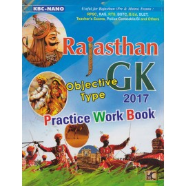 KBC Nano Publication [Rajasthan GK Objective Type 2017 Practice Work Book (English), Paperback] by Rajendra Kumar Meena