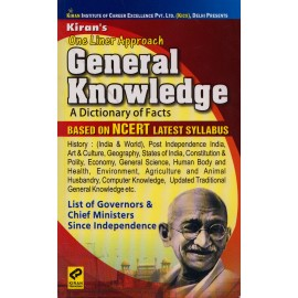 Kiran Publication PVT LTD [One Liner Approach General Knowledge (A Dictionary of Facts) Based on NCERT (English), Paperback] by Kiran Learner's Team