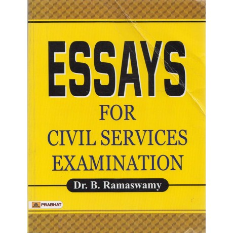 Prabhat Paperback [ESSAYS for Civil Services Examination (English), Paperback] by Dr. B. Ramaswamy