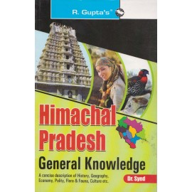 R. Gupta's Publication [Himachal Pradesh General Knowledge with Previous Question Papers (English), Paperback] by R' Gupta Team