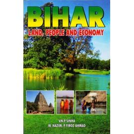 Rajesh Publications [Bihar, Land, People and Economy (English), Paperback] by V.N.P. Sinha, M. Nazim, P. Firoz Ahmad
