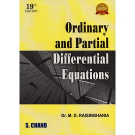 S. Chand Publication [Ordinary and Partial Differential Equations (English) Paperback] by Dr. M. D. Raisinghania