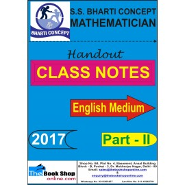 S S Bharti Concept - Mathematics/Numerical Aptitude/Maths Part - II, (English) 2017