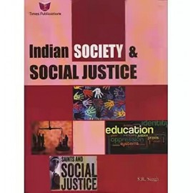Times Publications [Indian Society & Social Justice (English) Paperback] by Dr. S. R. Singh