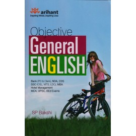 Arihant Publication [Objective General English] Author- SP Bakshi
