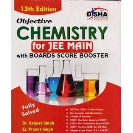 Disha Publication [Chemistry for JEE MAIN Board Score Booster] Author - Dr. Daljeet Singh and Er. Pramit Singh